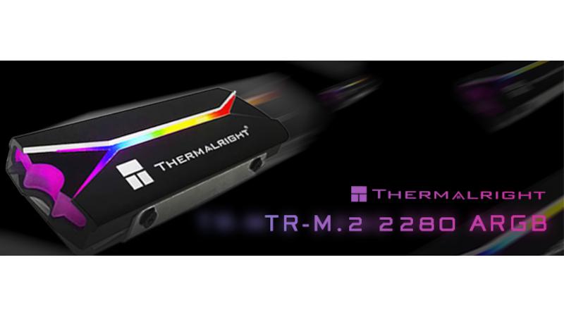 【ニュース・フラッシュ】Thermalright、アドレッサブルRGB搭載のM.2 SSD用ヒートシンク