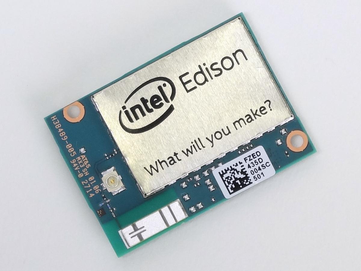 【レビュー】 本日発売、Intelの極小コンピュータ「Edison」インプレッション