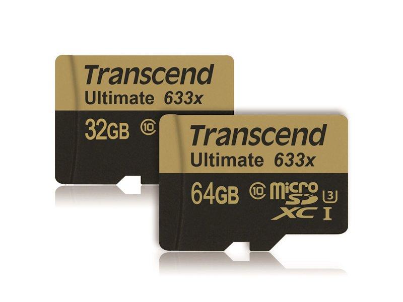 トランセンド、4K記録に最適なmicroSD ~読み出し95MB/sec、書き込み85MB/sec